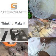 What business can I start w my STEPCRAFT? #prototypes #crafts #woodworking #DIY Put yourself & STEPCRAFT on your priority list. www.stepcraft.us