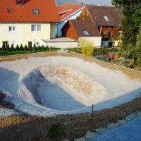 Projektreferenz Schwimmteich bei Heilbronn - Dieser Schwimmteich entstand im Eigenbau mit der Unterstüzung von Mielke's Schwimmteiche - Spezialist für Zier-, Natur- und Badeteiche