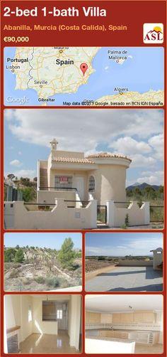 2-bed 1-bath Villa in Abanilla, Murcia (Costa Calida), Spain ►€90,000 #PropertyForSaleInSpain