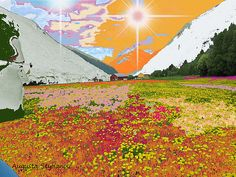 Norway Landscape.  Augusta Stylianou