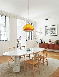 Decorating Parisian Style: Chic Modern Apartment by Sandra Benhamou