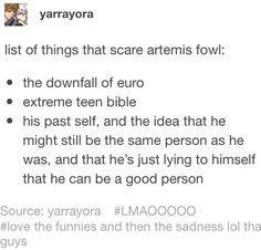 Y'all forgot: four four four four Artemis Fowl Funny, Child Genius, Best Villains, World Of Books, Lollipops, Book Fandoms, Book Stuff, Book Series, Trauma