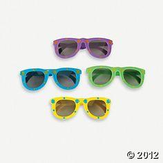 3f78537393 Fish Print Kiddie Sunglasses  6.25 doz Fun Express