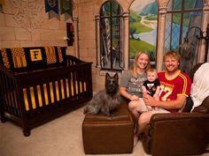 El 'mágico' cuarto de este bebé te hará sentir en Hogwarts