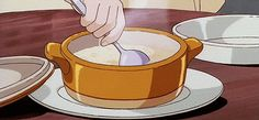 Rice porridge (okayu) from Kiki's Delivery Service. | Here's How To Eat Everything You've Ever Wanted From A Miyazaki Film