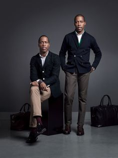 Rules of Style: WANT Les Essentiels de la Vie's Byron and Dexter Peart