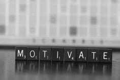 Motivate - Scrabble Art