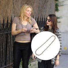 Loved seeing Courtney Love and Frances Bean in #JENHANSEN during Paris Fashion Week - Courtney looking fab here in our DIAMOND XL Link Chain and Frances in our one of a kind #PEPPINAORIGINALS rings! xo Jen #PFW