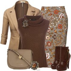 Sweater and Boots, Oh My!, created by jodilambdin on Polyvore