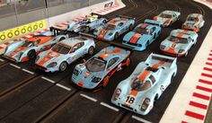My collection of Gulf Livery!