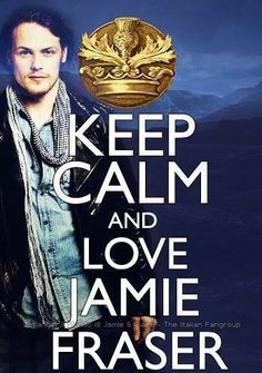 Is it even possible to keep calm while loving Jamie Fraser?