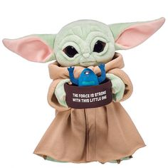 The Child Soup and Frog Wristie for Stuffed Animals   Build-A-Bear® Cute Alien, Blue Gift, The Force Is Strong, Friend Outfits, Build A Bear, Party Stores, Shopping Sites, Workshop, Plush