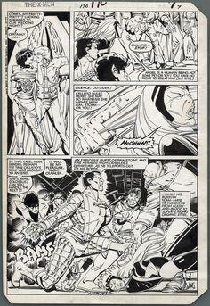 alexhchung:  Uncanny X-Men #170 by Paul Smith & Bob Wiacek