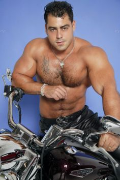 from Arian muscular nude men on motorcycles