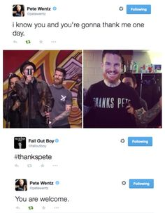This went(z) way too far and I love it.<<<<< did you just make Pete a pun