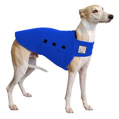 Please Note: If your dog is not a Whippet or is a Mixed Breed Dog, please contact us to make a custom coat for your dog.  Size Options Please