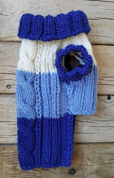 Hand Knitted Sweater for Dogs-Chihuahua sweater-Pet