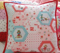 happy little cottage: The Simple Life really sweet pillow