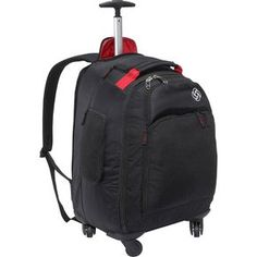 "Samsonite MVS Spinner Backpack 20"" x 13"" x 11"" Weight: 6 lbs, 6 oz"