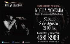 Noelia Moncada en Los 36 Billares