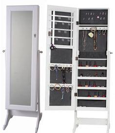 Mueble joyero con espejo vestidor - Etxearte