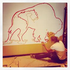 Hday Bison art by Zac -T #hansonday #hanson www.hanson.net