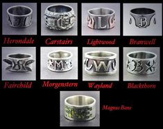 Shadowhunter Family Rings | The Shadowhunter Family Rings. @cassieclare @MInstrumentsUK http://t ...