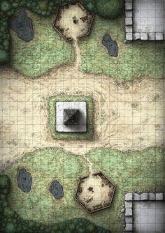 D&D Adventure Map