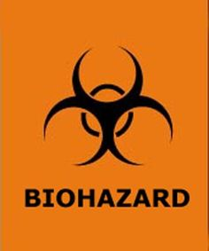 Biohazard Symbol also for cake or background. Hulk sees these and wants to smash! #kimberlingray