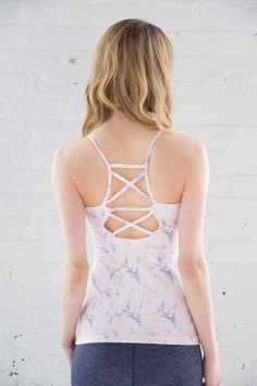 A polished collection of fresh & dreamy everyday active essentials Yoga Fashion, Active Wear For Women, Activewear, Camisole Top, Tank Tops, Shopping, Collection, Style, Halter Tops