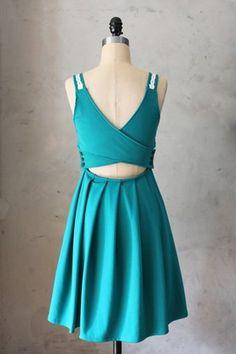 Derica Dress in Jade - Fleet Collection, $68 FleetCollection.com