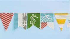 Duck cloth banner