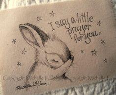 Original Pen Ink Fabric Illustration Quilt Label by MichellePalmer, $6.50