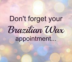It's summer time! Time to get silky smooth! Brazilian Wax: Buy 2 get one free for only $90! (Originally $135, a $45 SAVINGS! ) Book your appointment today at www.glamlesque.com!