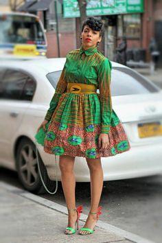 Ellie Maye Shirt Skirt or Set by tribalgroove on Etsy ~African fashion, Ankara, kitenge, African women dresses, African… African Print Dresses, African Wear, African Attire, African Fashion Dresses, African Women, African Dress, Ghanaian Fashion, African Prints, Nigerian Fashion