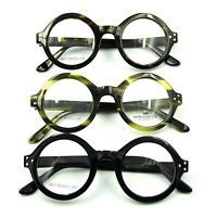 b70575edee21 Details about Vintage Small Round Eyeglass Frames Glasses Full Rim Spectacles  Eyewear Rx able