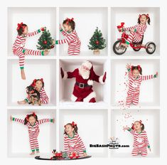 She and her pigtails had a blast in our Christmas Party Box photography session.