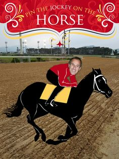 """Kentucky Derby Party poster printables: """"pin the jockey on the horse"""""""