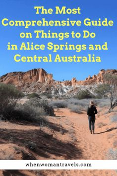If you want to see the 'real' Australia, you must include a visit to its Red Centre on your Australian itinerary. Alice Springs is the capital of Central Australia, and it is (almost) the geographical centre of the country. Australia Tours, Visit Australia, Australia Travel, South Australia, Amazing Destinations, Travel Destinations, Alice Springs Australia, Stuff To Do, Things To Do
