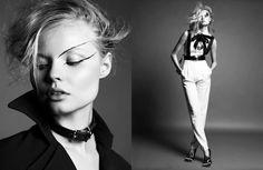 Model: Magdalena Frackowiak   Photographer: Greg Kadel - for Numéro #115