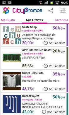 Las ofertas de tus comercios en tu móvil #sabadell #castellardelvalles #montcadaireixac