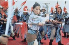Michelle Yeoh in Tai Chi Masters.