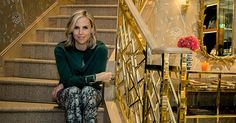 "Tory Burch: has said it was challenging for her in setting up her eponymous business. ""I had never been to business school or design school. It was a risk. It was putting myself out there in a way that was opening myself up for criticism. I'm a sensitive person. So, it was hard."""
