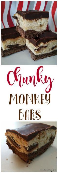 Chunky Monkey Bars & #NestleBakersChoice Giveaway - Domesblissity