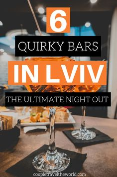 Lviv Ukraine has some of the best (and plain weirdest) nightlife we have ever seen. Here are 6 interesting bars you cannot miss in a trip to Lviv. All of these places are located near the old town of Lviv. To find out more about these quirky places including a underground bunker and a whip bar, see here!  #lviv #ukraine #nightlife