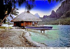Île de Mooréa - Baie de Cook - ( Polynésie Française )