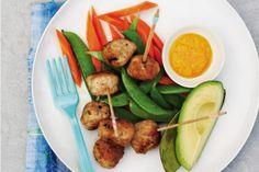 Gwyneth Paltrow's Japanese Chicken Meatballs