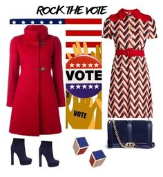"""""""Made for voting"""" by byvette on Polyvore featuring mode, Gucci, Casadei, Rebecca Minkoff, FAY en Eshvi"""