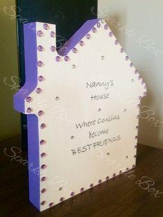 Nanny's house gift  Https://m.facebook.com/sparkleboxcambridge?_rdr