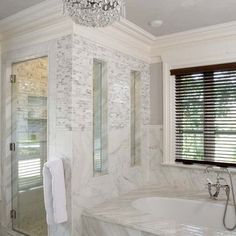 Narrow Master Bathroom Design, Pictures, Remodel, Decor and Ideas - page 2